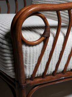 Italian 60s Wicker Lounge Chairs - 1502082
