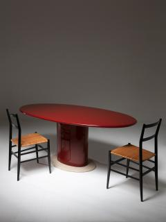 Italian 70s Lacquered Table - 1024209
