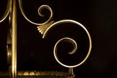 Italian Art Deco Brass Lantern or Pendant 1940s - 1995929