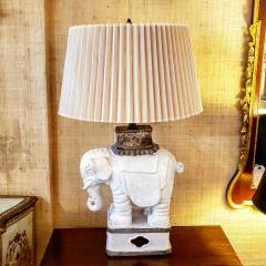 Italian Art Deco Elaphant Lamp - 1857441