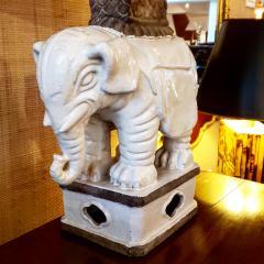 Italian Art Deco Elaphant Lamp - 1857442