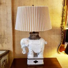 Italian Art Deco Elaphant Lamp - 1857444