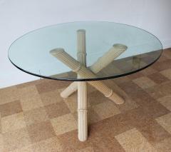 Italian Bamboo Tripod Dining Table - 260920