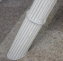 Italian Bamboo Tripod Dining Table - 260921