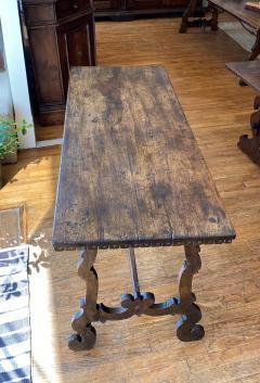 Italian Baroque Walnut Trestle Table Circa 1740 - 1670238
