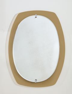 Italian Beveled Smoked Glass Wall Mirror by Veca - 2096654