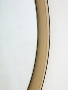 Italian Beveled Smoked Glass Wall Mirror by Veca - 2096656