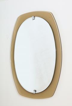 Italian Beveled Smoked Glass Wall Mirror by Veca - 2096657