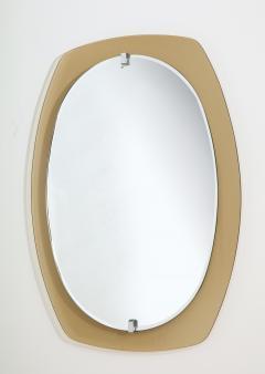 Italian Beveled Smoked Glass Wall Mirror by Veca - 2096658