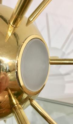 Italian Brass Sputnik Table Lamp - 1088861
