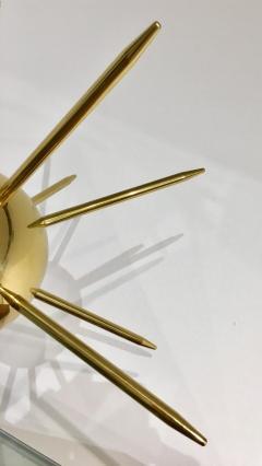 Italian Brass Sputnik Table Lamp - 1088862