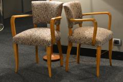 Italian Bridge Chairs 1950s Set of 2 - 1990523