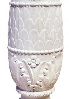 Italian Carrera Marble Pedestal - 1568080