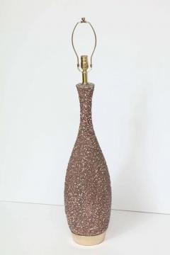 Italian Cocoa Brown Lava Glazed Lamps - 922090