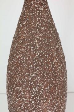 Italian Cocoa Brown Lava Glazed Lamps - 922095