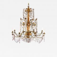 Italian Eight Light Chandelier - 270966