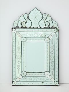 Italian Etched Venetian Mirror - 1078031
