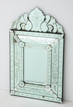 Italian Etched Venetian Mirror - 1078032