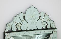 Italian Etched Venetian Mirror - 1078036