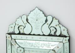 Italian Etched Venetian Mirror - 1078037