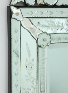 Italian Etched Venetian Mirror - 1078038