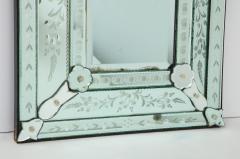 Italian Etched Venetian Mirror - 1078040