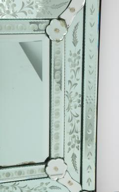 Italian Etched Venetian Mirror - 1078041