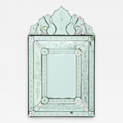 Italian Etched Venetian Mirror - 1079573