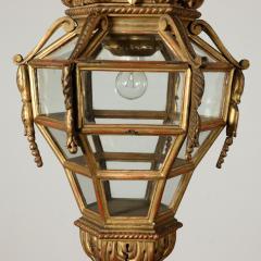 Italian Giltwood hall lantern - 1083856