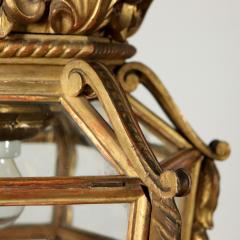 Italian Giltwood hall lantern - 1083857