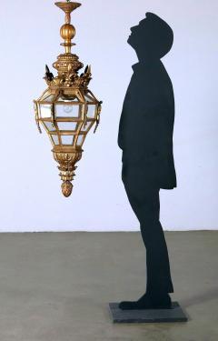 Italian Giltwood hall lantern - 1083858