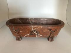 Italian Grand Tour Model of a Breccia Marble Bath - 1093255