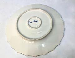 Italian Hand Painted Dinner Plates Set of 12 - 1933047