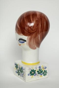 Italian Hand Painted Porcelain Bust - 1135662