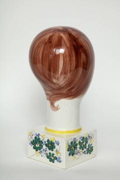 Italian Hand Painted Porcelain Bust - 1135663