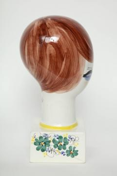 Italian Hand Painted Porcelain Bust - 1135664