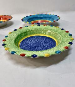 Italian Hand Painted Soup Dishes Set of 12 - 1933060