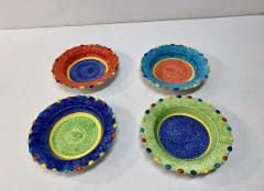 Italian Hand Painted Soup Dishes Set of 12 - 1933062