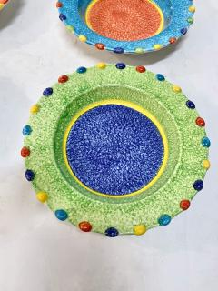 Italian Hand Painted Soup Dishes Set of 12 - 1933064
