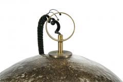 Italian Handblown Pulegoso Glass Dome Chandelier - 775325