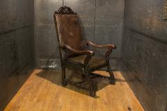 Italian Leather Armchair - 477134
