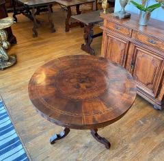 Italian Marquetry Table Circa 1850 - 1697941