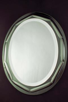 Italian Mirror in the Style of Fontana Arte 1970s - 1910373
