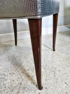 Italian Modern Mahogany Arm Desk Chair Guglielmo Ulrich - 732565