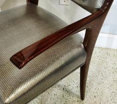 Italian Modern Mahogany Arm Desk Chair Guglielmo Ulrich - 732573