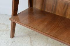 Italian Modern Walnut Birch and Mahogany Cabinet or Bookcase Arturo Reverso - 373159