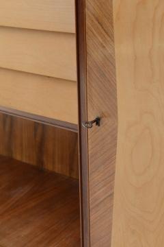 Italian Modern Walnut Birch and Mahogany Cabinet or Bookcase Arturo Reverso - 373160