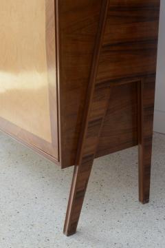 Italian Modern Walnut Birch and Mahogany Cabinet or Bookcase Arturo Reverso - 373161