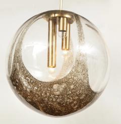 Italian Murano 1960s Blown Glass Globe Chandelier - 1815045