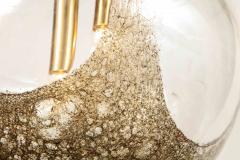 Italian Murano 1960s Blown Glass Globe Chandelier - 1815047